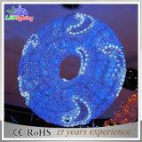 Waterproof LED Motif Lights 3D Christmas Decoration Big Balls