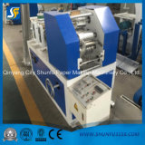 Automatic Pocket Handkerchief Paper Emossed Folder Face Tissue Machine