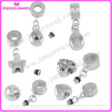 Stainless Steel Memorial Keepsake for Ashes Cremation Jewelry Charms