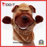 Plush Animal Soft Fabric Baby Funny Dog Hand Puppet