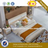 Antique Double Wooden Bed for Bed Room Furniture (HX-8NR0837)