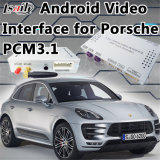 Android GPS Navigation Interface for Porsche Macan PCM 3.1 with Mirrorlink