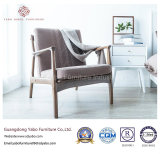 Modern Wooden Hotel Furniture with Living Room Armchair (YB-WS-64)