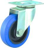"4"" Swivel Elastic Rubber Caster Wheel for Trolley"