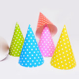 Polka DOT Party Hats, Paper Hats for Birthday Party