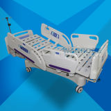 Bae517ec Cheap Price Hospital Rolling Examination ICU Electric Bed for Patients with Mattress