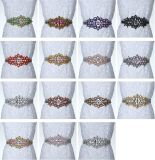 Wholesale High Grade Wedding Dress DIY Handsewn Crystals Belt Accessories
