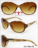 Plastic Sunglasses with Metal Decoration for Ladies (WSP707933)