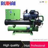 Screw Compressor Low Temperature Water Cooled Water Chiller 63kw to 433kw