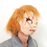 Halloween Costumes Deluxe Latex Giraffe Animal Mask