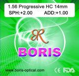 Progressive Cr39 1.56 Short Corridor 12/14mm Hc Optical Lens