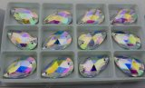 Flated Drop Ab Sew on Stones Decorative Crystal Stone