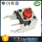Touch Switch Element 6*6*4.3 High Temperature Red Head Support Environmental Protection Key Switch