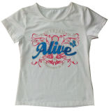 Beautiful Girl Children′s T-Shirt in Kids Clothes (SGT-031)
