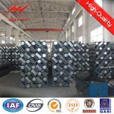 Galvanized 19m Electric Power Steel Pole for Transmission Tower