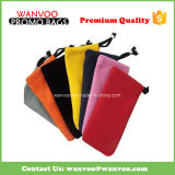 Colorful Velvet Drawstring Pouch for Eyeglasses