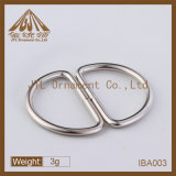 Fashion Hot Sale 25mm Nickel Plated D Ring Buckles