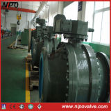 Three Pieces Cast Steel Trunnion Ball Valve