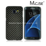 High Luxury 100% Real Carbon Fiber Rubberized PC Case Cover for Samsung Galaxy S7