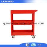 Tool Cart Garage 3 Tier Tool Tray Storage Utility Trolley