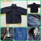 2016 Children′s High Quality Full Zipper Fleece Jacket for Outdoor