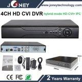 Full Realtime 30fps 1080P 4CH HD Cvi Camera DVR