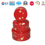 Customized Printed Tin Can Round Money Box