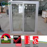 Silver Color Interior Sliding Window, PVC Slide Windows