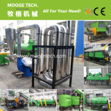 Waste rigid pet plastic bottle recycling plant