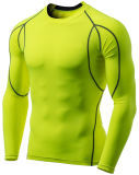 Men Baselayer Cool Dry Compression Top Long Sleeve T-Shirt
