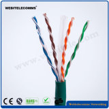 U/UTP Un-Shielded Cat 6 Cable Twisted Pair Installation Cable