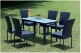 PE Rattan Outdoor Chair Table Furniture Garden Set