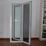 High Quality Aluminum Profile Casement Window with Stainless Steel Screen K03026
