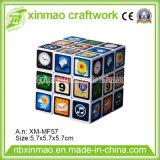 5.7cm Rubiks Cube with Full Logo Imprint for Promo