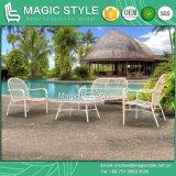New Design Outdoor Furniture Garden Furniture Wicker Chair Stackable Chair Sofa Set Patio Sofa Rattan Sofa