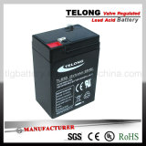 6V3ah Rechargeable VRLA Battery with CE UL RoHS