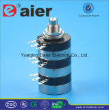 3 Gang 360 Rotary B500k Potentiometer with 3 Resistance
