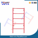 Powder Coated Scaffolding Shoring Frame for Building