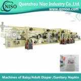 Full-Automatic High Speed Baby Diaper Making Machine (YNK500-SV)