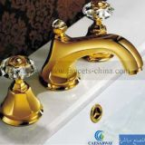 Golden 3 Suite Bathtub Faucet Mixer