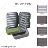 Wholesale Multi Colors Different Foams Swing Leaf Fly Fishing Box 09A-Fb021