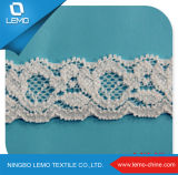 Hot Sale Pure Cotton Tricot Lace Trim for Garment Decoration