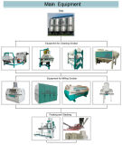 European Standard 100tons Rice Flour Milling Machine Turnkey Project