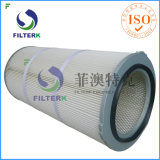 Washable Pleated Polyester Dust Collector Air Filter Cartridge Filterk