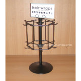 Rotating Metal Wire Counter Retail Display with Hangers (PHY196)