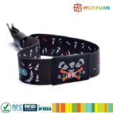 Ticket NFC NTAG213 Woven SEWING Fabric Bracelet for Music Festival