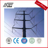 Galvanized 10m Electric Pole Made of Hot Alloy Steel