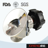 Stainless Steel Sanitary Tank Bottom Diaphragm Valve (JN-DV1009)
