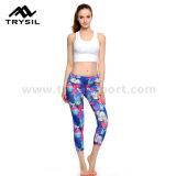 Sexy Girls Wearing Yoga Pants Capri Legging