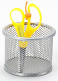 Metal Mesh Stationery Pencil Holder/ Office Desk Accessories